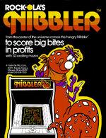 Nibbler arcade flyer