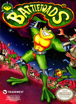 Battletoads NES cover