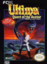 Ultima 4 Quest of the Avatar NES cover
