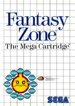 Fantasy Zone SMS box art
