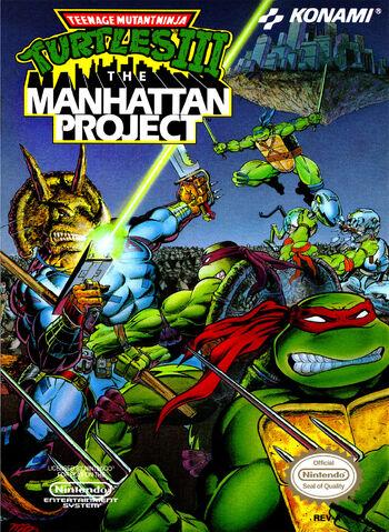 File:Teenage Mutant Ninja Turtles 3 The Manhattan Project NES cover.jpg