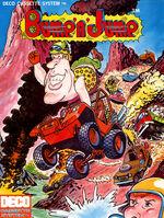 Bump 'N' Jump arcade flyer