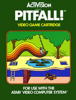 Atari 2600 Pitfall box art