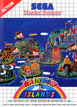 Rainbow Islands SMS box art
