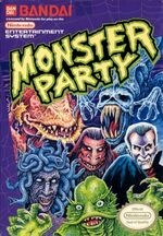 Monster Party NES cover