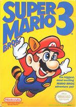 Super Mario Bros 3 NES cover