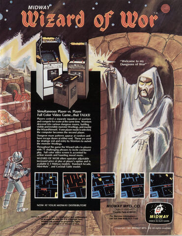 File:Wizard of Wor arcade flyer.jpg