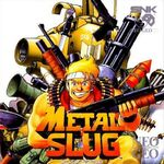 Metal Slug NGCD cover