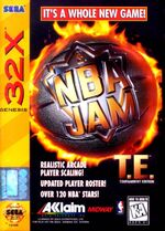 NBA Jam for Sega 32X