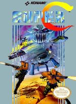 Super C NES cover