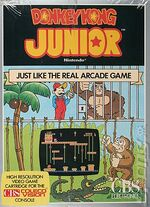 Donkey Kong Jr Colecovision cover