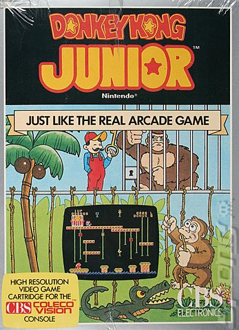 File:Donkey Kong Jr Colecovision cover.jpg