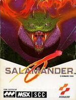 Salamander MSX cover