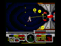 Fire Hawk Thexder The Second Contact MSX2 screenshot