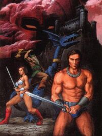 Golden Axe Art