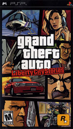 Grand Theft Auto Liberty City Stories box