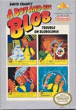 A Boy and His Blob Trouble on Blobolonia NES cover