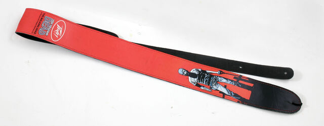 File:The Walking Dead Rick Grave Digger Leather Guitar Strap.jpg