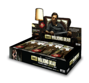 The Walking Dead Season 3 Trading Cards Part 2 Box