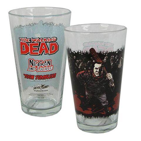 File:Negan Comic Series Pint Glass.jpg