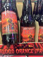 The Walking Dead- Blood Orange IPA blottles