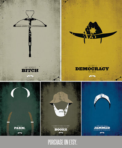 File:The walking dead minimalist prints2.jpg
