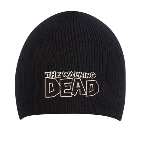 File:THE WALKING DEAD BEANIE - BLACK.PNG