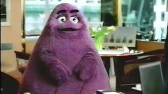 McDonalds - Donald Trump Grimace Commercial