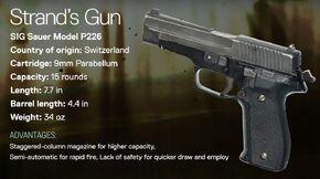 Strand's Gun