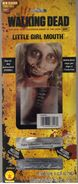 Little Girl Zombie Mouth Mask 2
