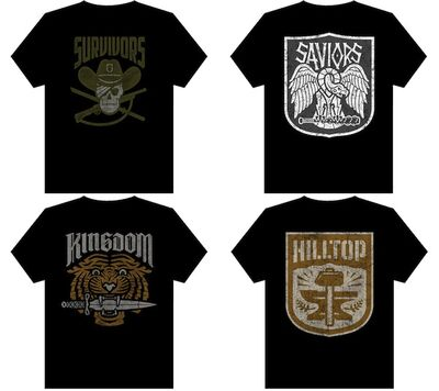 SDCC 4 Faction Shirts