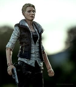Walking Dead action figures TV series 4 Andrea 03