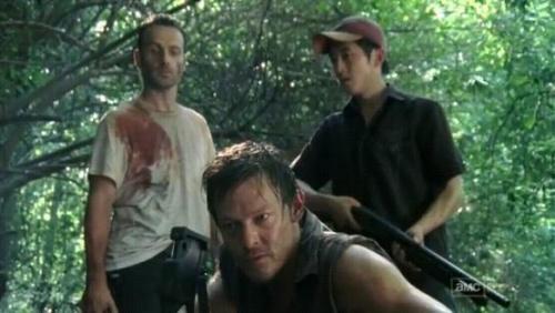 File:Rick, Daryl, Glenn, 1.JPG