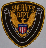 Linden County Sheriff sleeve