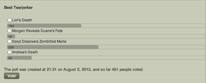 TWDW Awards Poll 11