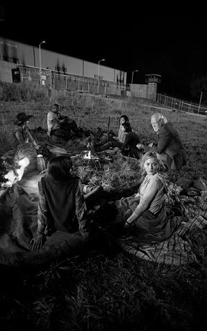 File:The walking dead beth black and white.jpg