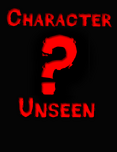Character unseen