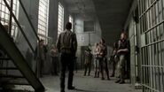 Rick telling the group about the governor