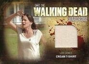 M7 Lori Grimes Cream T-Shirt
