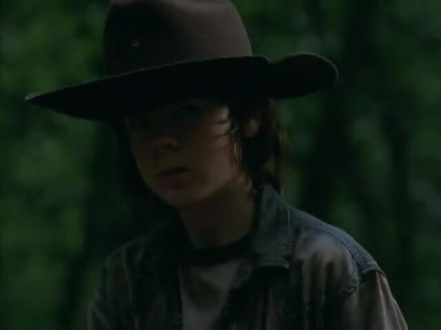 File:Carl outside with Hershel.jpg
