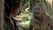 Beth telling Daryl he is afraid
