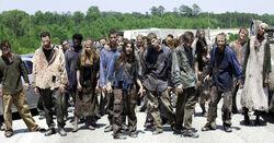 Walking dead what lies ahead zombie herd