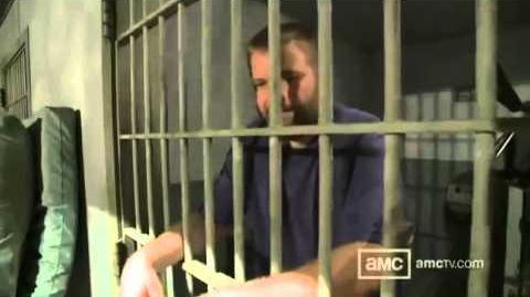 The Walking Dead Season 3 Prison Set Tour with Robert Kirkman (Inside Walking Dead)