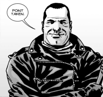File:Issue 107 Negan Happy.png