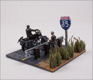 Daryl Dixon with Chopper (The Walking Dead TV) McFarlane Building Set 2