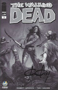 Issue 1 Wizard World Comic Con Richmond VIP Exclusive Variant Sketch Cover signed by Ken Kelly