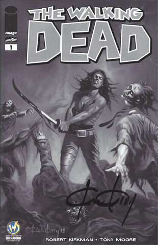 File:Issue 1 Wizard World Comic Con Richmond VIP Exclusive Variant Sketch Cover signed by Ken Kelly.jpg