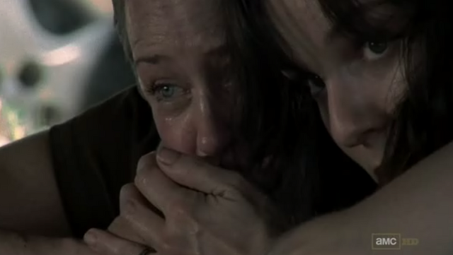 File:Lori Grimes & Carol Peletier (TV SERIES) 2.png