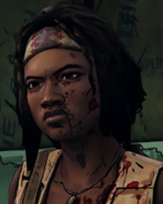GNS Michonne Pissed