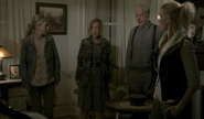 Patricia with Beth, Hershel and Andrea